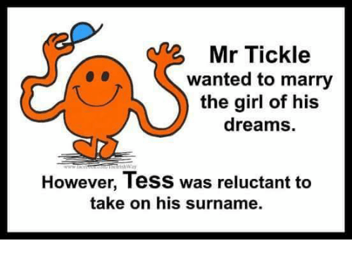 Memes, 🤖, and Tickle: Mr Tickle wanted to marry the girl of his