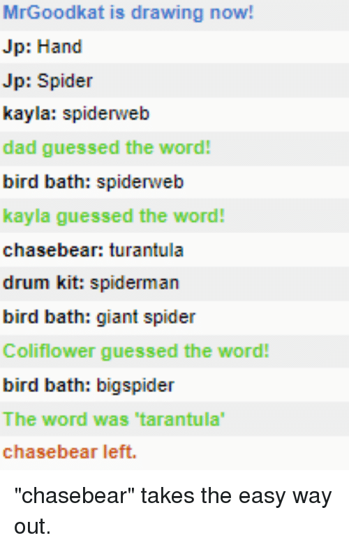 Mrgoodkat Is Drawing Now Jp Hand Jp Spider Kayla Spidereb