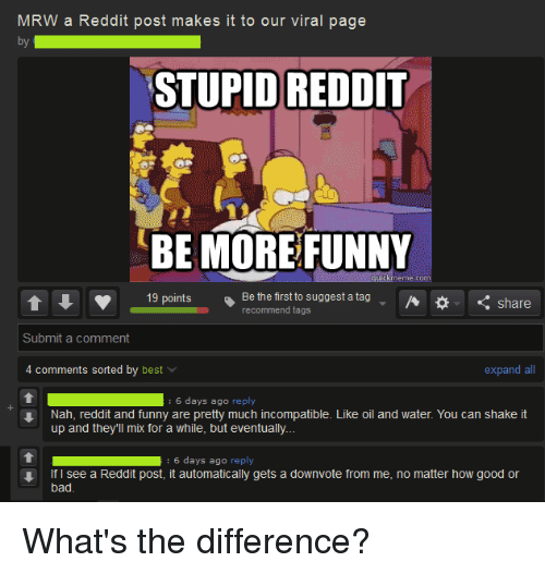 Bad Funny And Reddit Mrw A Reddit Post Makes It To Our Viral