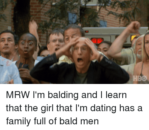 dating while balding