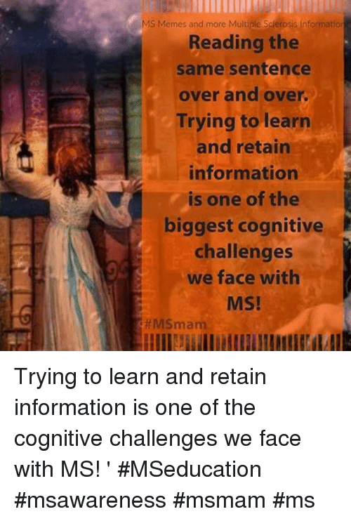 MS Memes and More Multiple Sclerosis Information Reading the Same