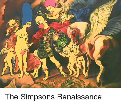 Funny, The Simpsons, and The Simpsons: ms. MI  n The Simpsons Renaissance