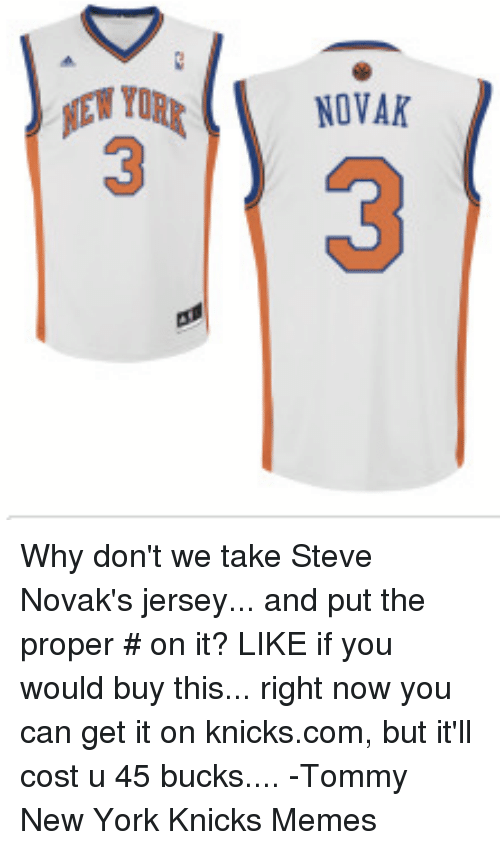 lowest price ac5fe 99c20 mTURT NOVAK EN YORE NOVAK Why Don't We Take Steve Novak's ...