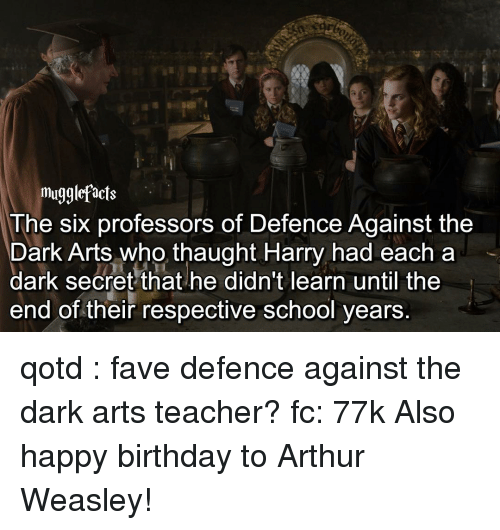 Mugglefacts The Six Professors Of Defence Against The Dark Arts