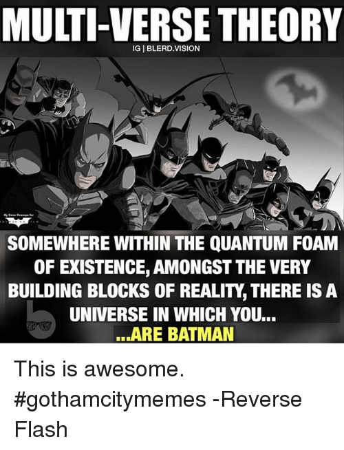 Multiverse Theory Batman