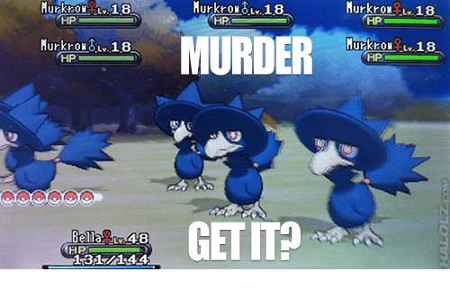 how to get murkrow in platinum