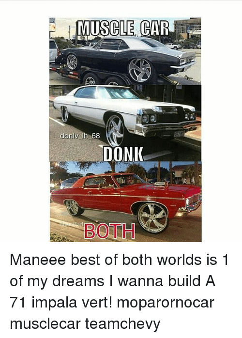 Muscle Car Donlv Uh 68 Donik Both Maneee Best Of Both Worlds Is 1 Of