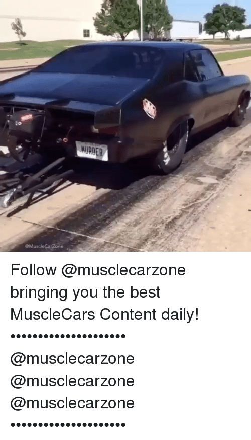 Carzone Follow Musclecarzone Bringing You The Best Musclecars