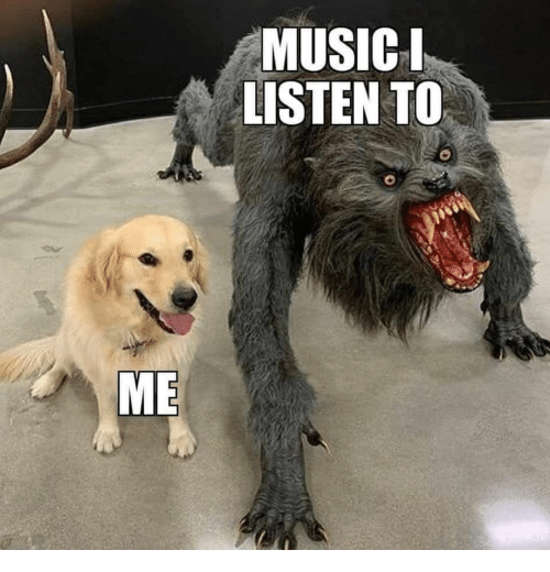 Music, Listen to Me, and Listen: MUSIC  LISTEN TO  ME