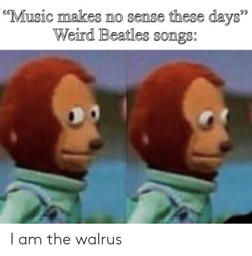 🔥 25+ Best Memes About I Am the Walrus | I Am the Walrus Memes