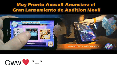 audition movil axeso5
