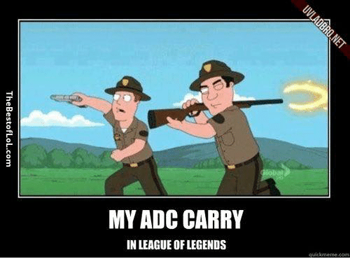 how to carry as adc