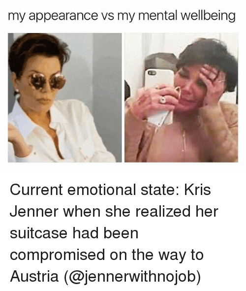 my appearance vs my mental wellbeing current emotional state kris 21402780 my appearance vs my mental wellbeing current emotional state kris