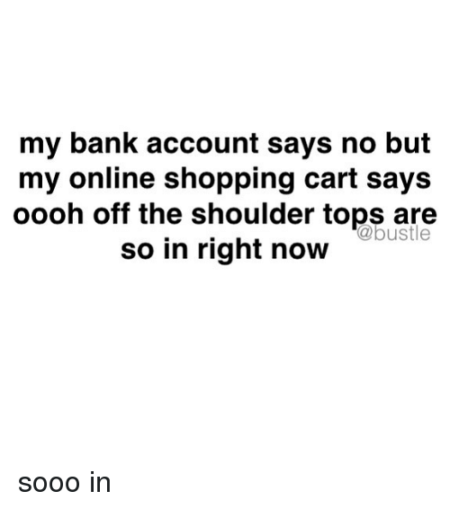 Shop online with my checking account number