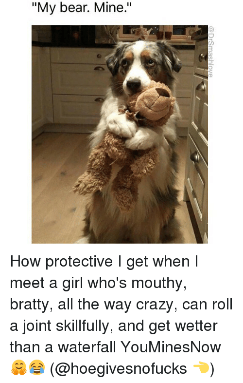 my bear mine drsmashlove how protective i get when i 23210498 ✅ 25 best memes about waterfall waterfall memes