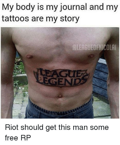 My Body Is My Journal And My Tattoos Are My Story