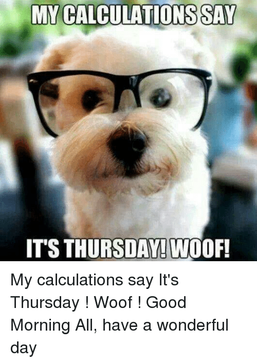 Good Morning All Meme : Best memes about its thursday