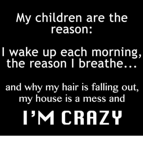 My Children Are The Reason I Wake Up Each Morning The Reason I