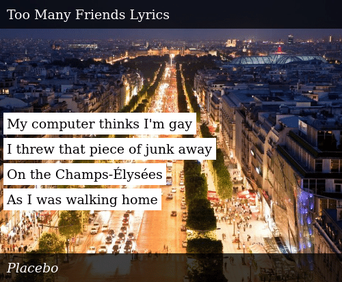 My Computer Thinks I'm Gay I Threw That Piece of Junk Away on the  Champs-Élysées as I Was Walking Home   Donald Trump Meme on ME.ME