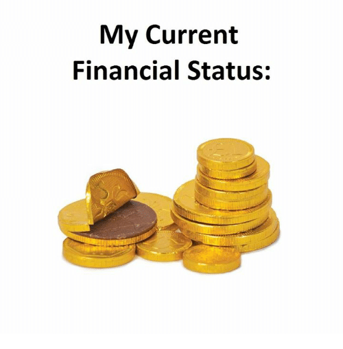 Currently, Current, and Status: My Current  Financial Status:
