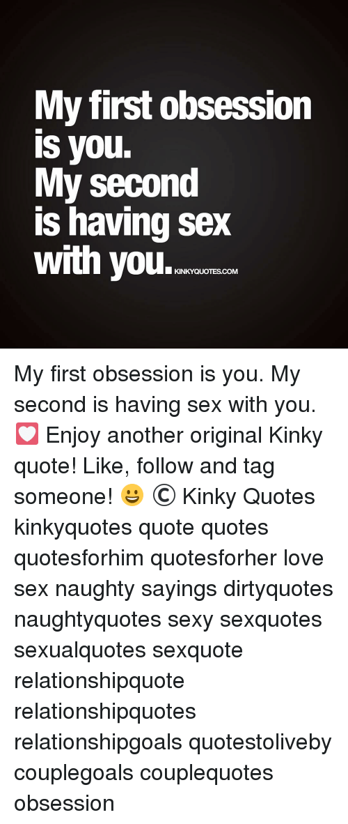 I love sex with you