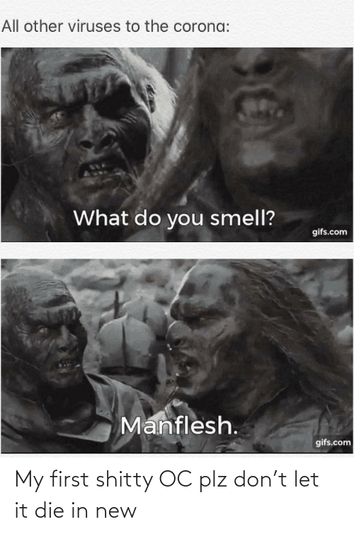 Lord of the Rings, Don, and First: My first shitty OC plz don't let it die in new