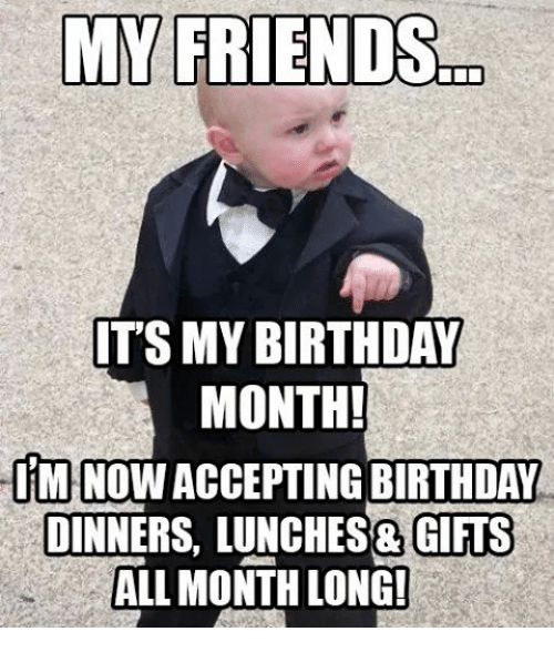 25+ Best Memes About Birthday Month