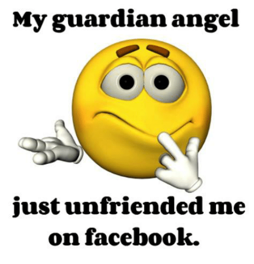 My wife unfriended me on facebook