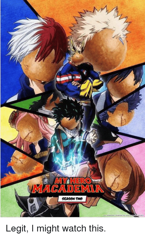ab4237d0263b MY HERO ACADEMIA SEASON TNO Legit I Might Watch This
