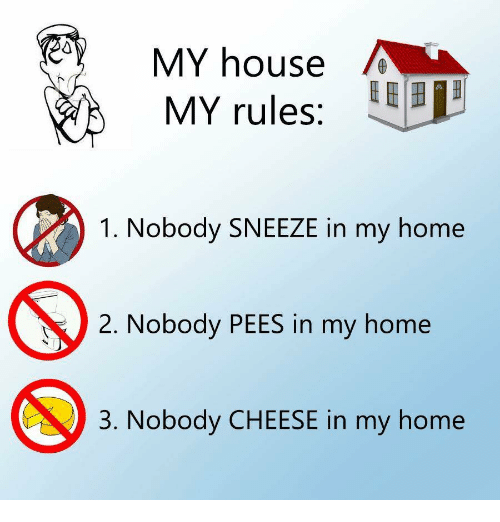 My House Home And Rules E 1