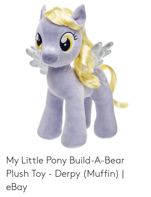 My Little Pony Build A Bear Plush Toy Derpy Muffin Ebay Ebay Meme On Me Me