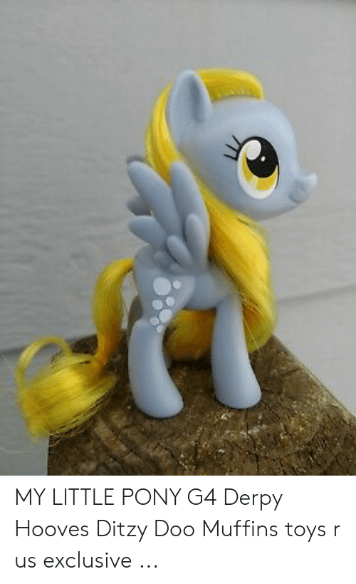 MY LITTLE PONY G4 Derpy Hooves Ditzy Doo Muffins Toys R Us