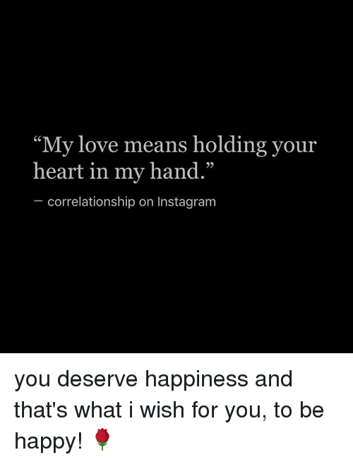 what my love means to you