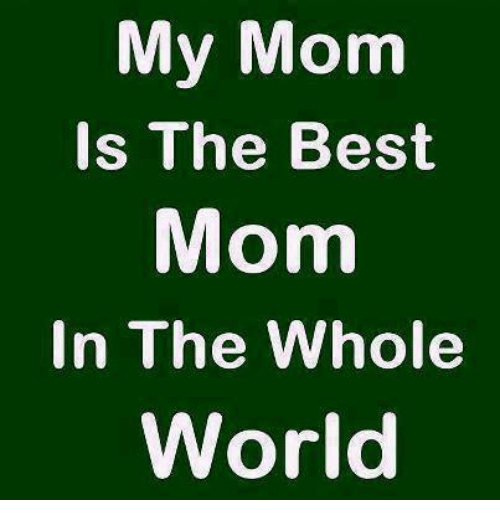 Memes Best And World My Mom Is The In Whole