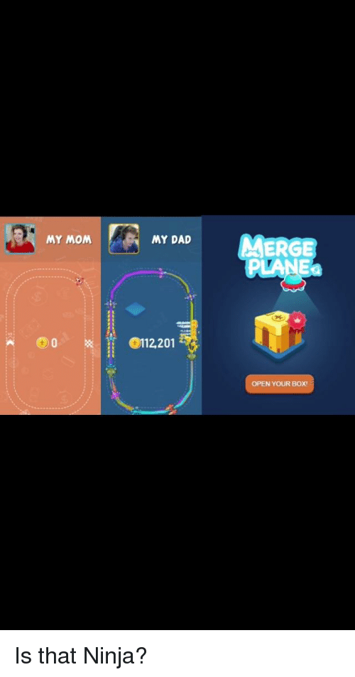 Dad, Ninja, and Mom: MY MOM  MY DAD  ERGE  PLANE  90112201  OPEN YOUR BOX