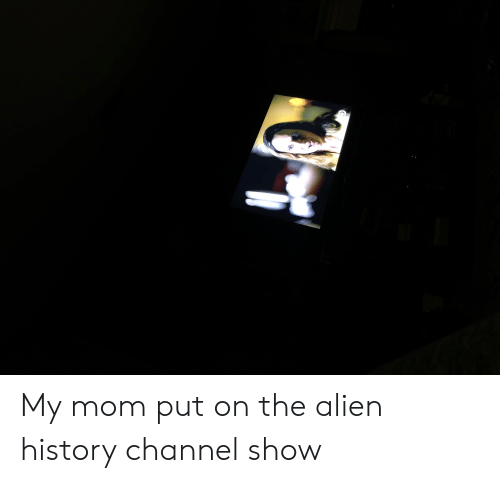 My Mom Put on the Alien History Channel Show | Alien Meme on