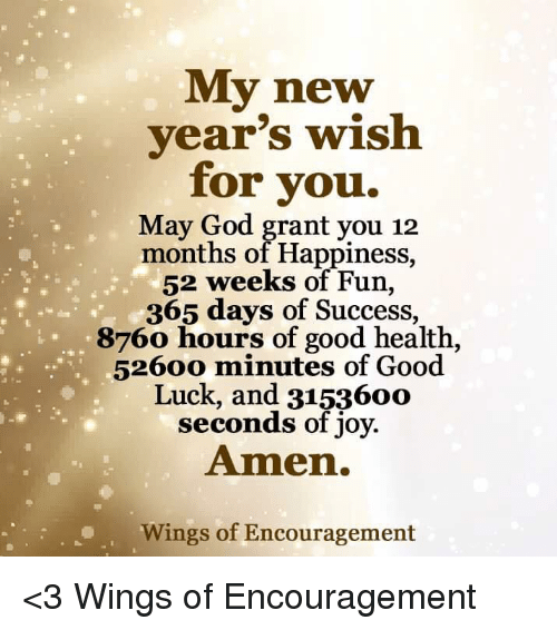 memes wings and joyful my new years wish for you may god