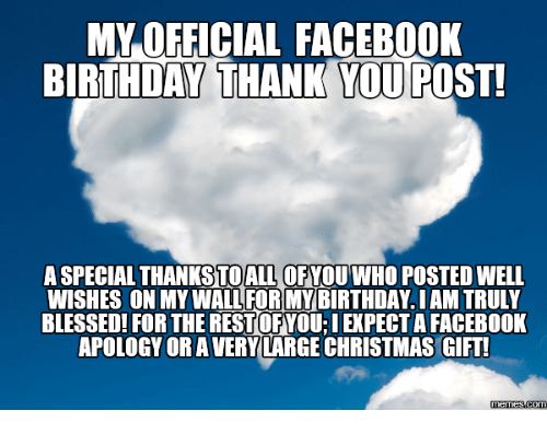 25 Best Birthday Wishes On Facebook Memes
