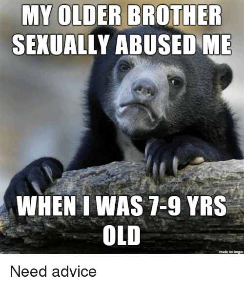 I like my brother sexually