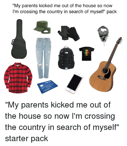 parents kicked me out