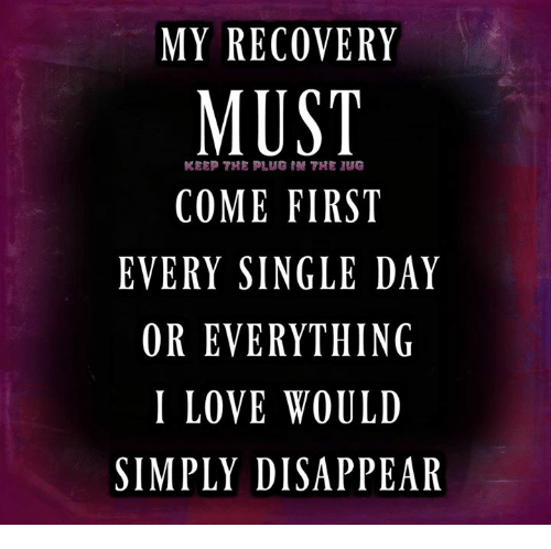 Recovery singles