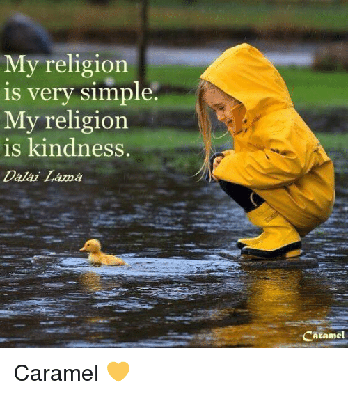 Lovely My Religion Is Very Simple My Religion Is Kindness Dalai Lama  FC33