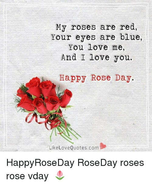 My Roses Are Red Your Eyes Are Blue You Love Me And I Love You Appy