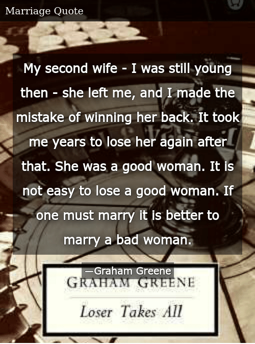 My Second Wife - I Was Still Young Then - She Left Me and I