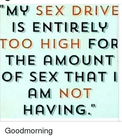 Why has my sex drive increased