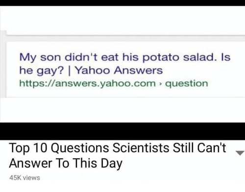 gay lesbian questions and answers