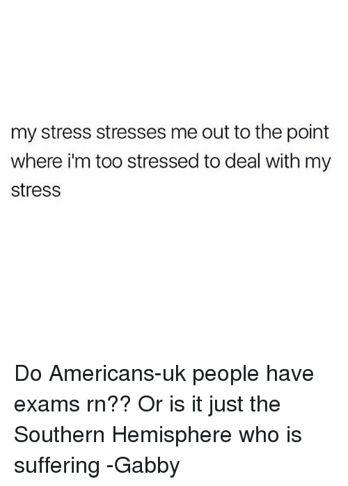 other people stress me out