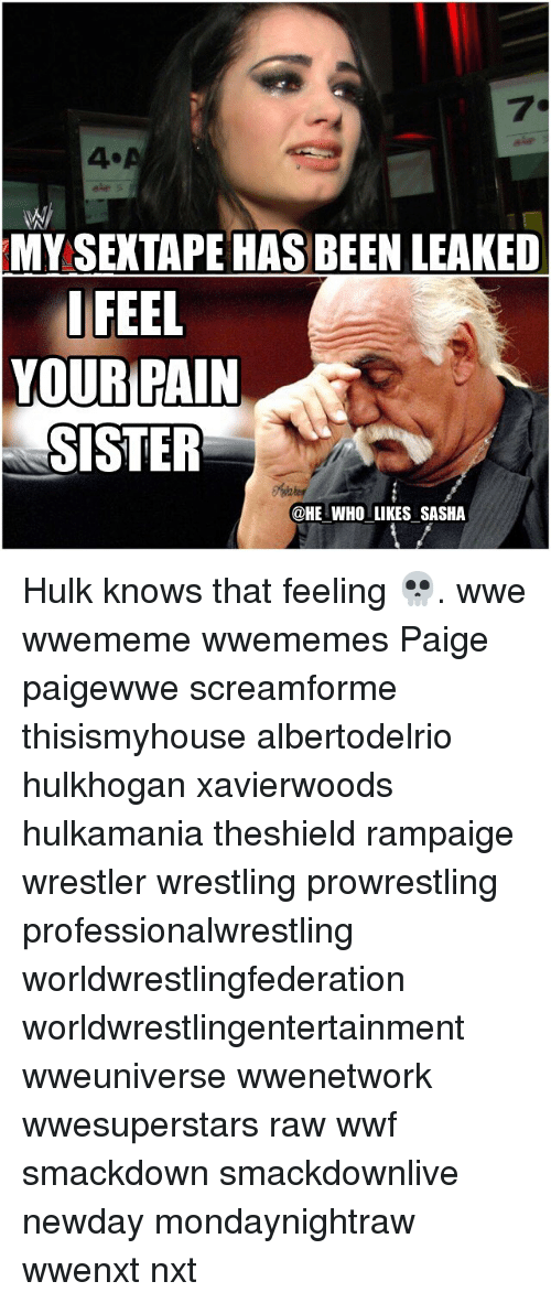 Mysextape Has Been Leaked I Feel Your Pain Sister Who Likes Sasha