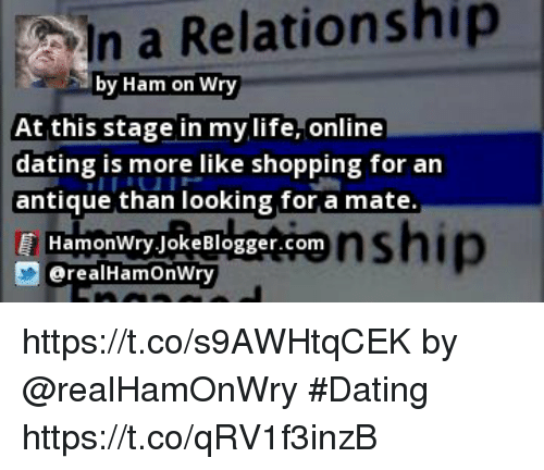 relation shopping online dating
