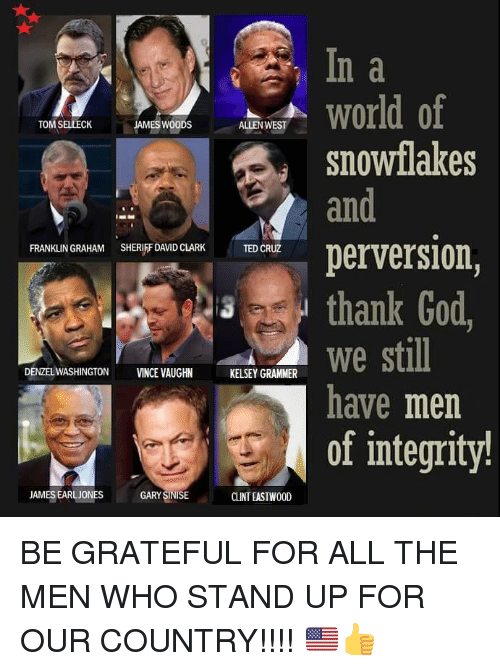 N A World Of Snowflakes An Tom Selleck James Woods Allen West